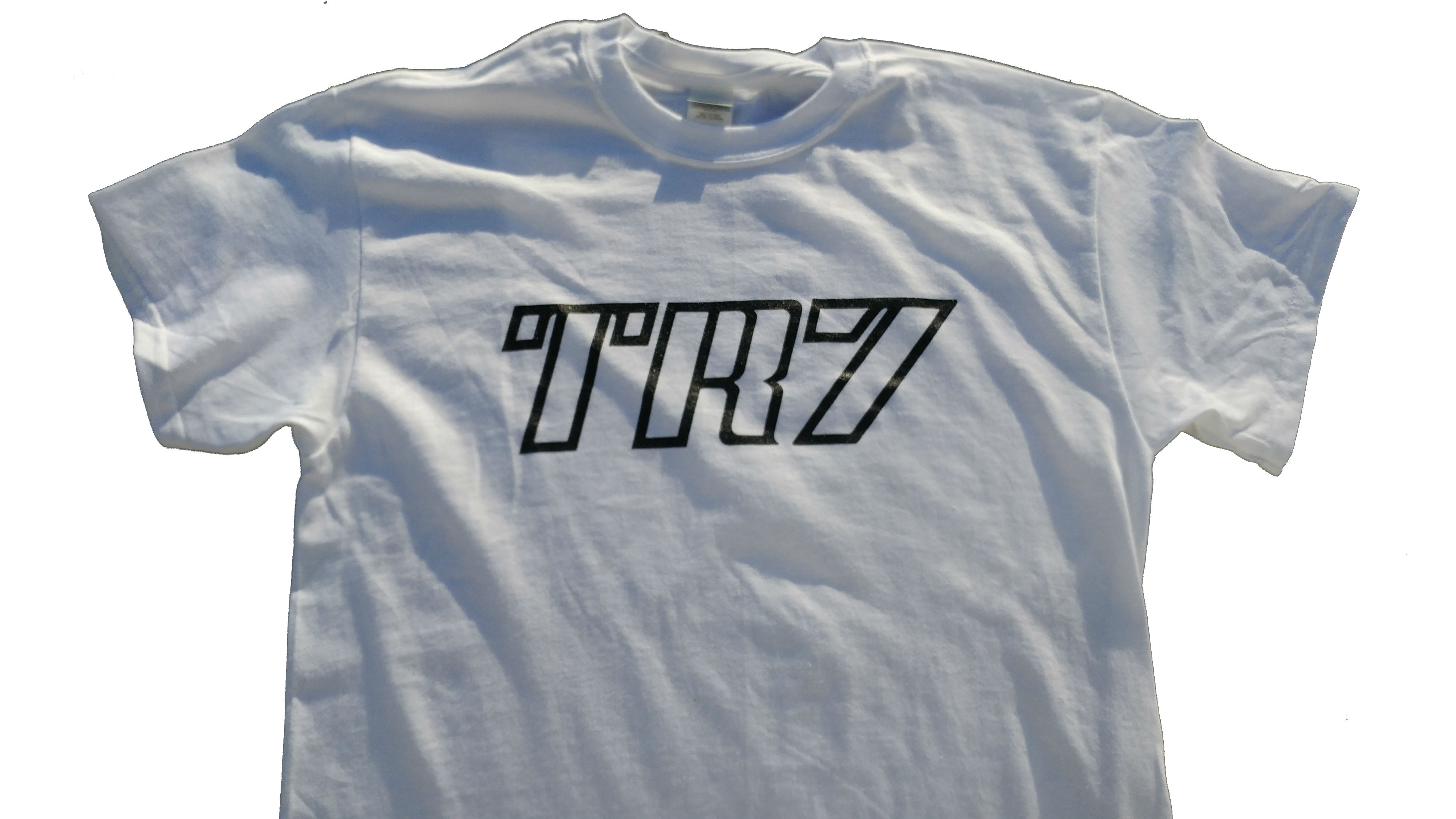 TR7 Decal Shirt White