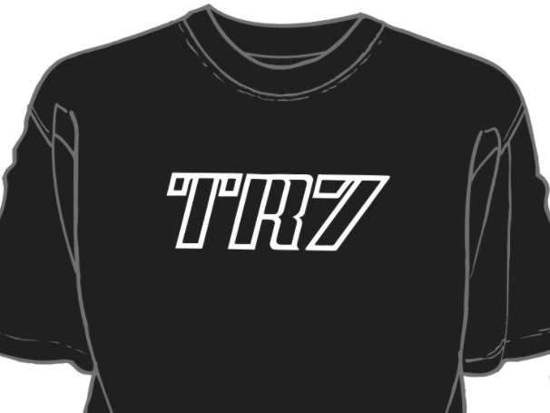 TR7 Decal Shirt Black