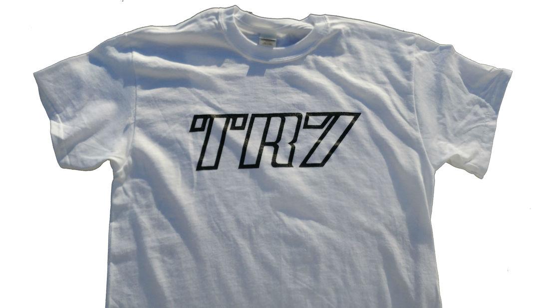 TR7 Decal Shirt White
